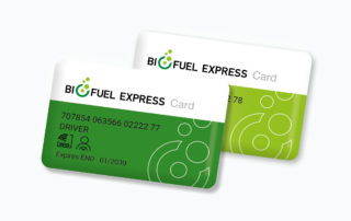 Biofuel Express 2 Card system