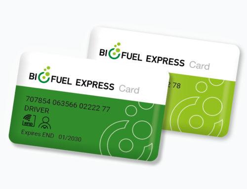 Biofuel Express lancerer nu muligheden for 2-kortsystem i Sverige
