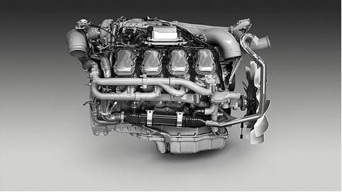 Scania introducerar unik V8-motor för Euro 6 och 100% biodiesel