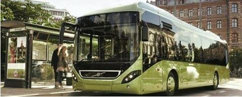 grøn bustransport