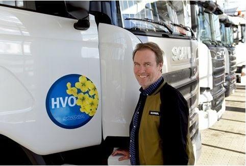 Grönt ljus för HVO i alla Scanias Euro 6-fordon