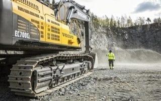 Volvo godtar HVO i entreprenadmaskiner