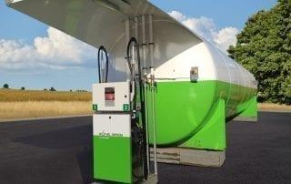 Tankstation Biofuel Express