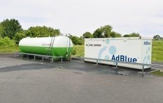 Biofuel Express B100 og Adblue