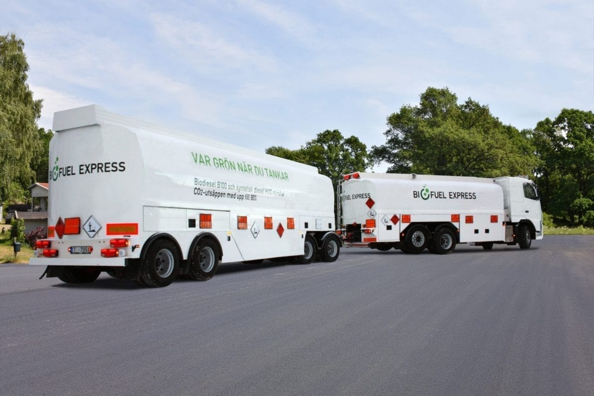 Tankvogne biofuel Express