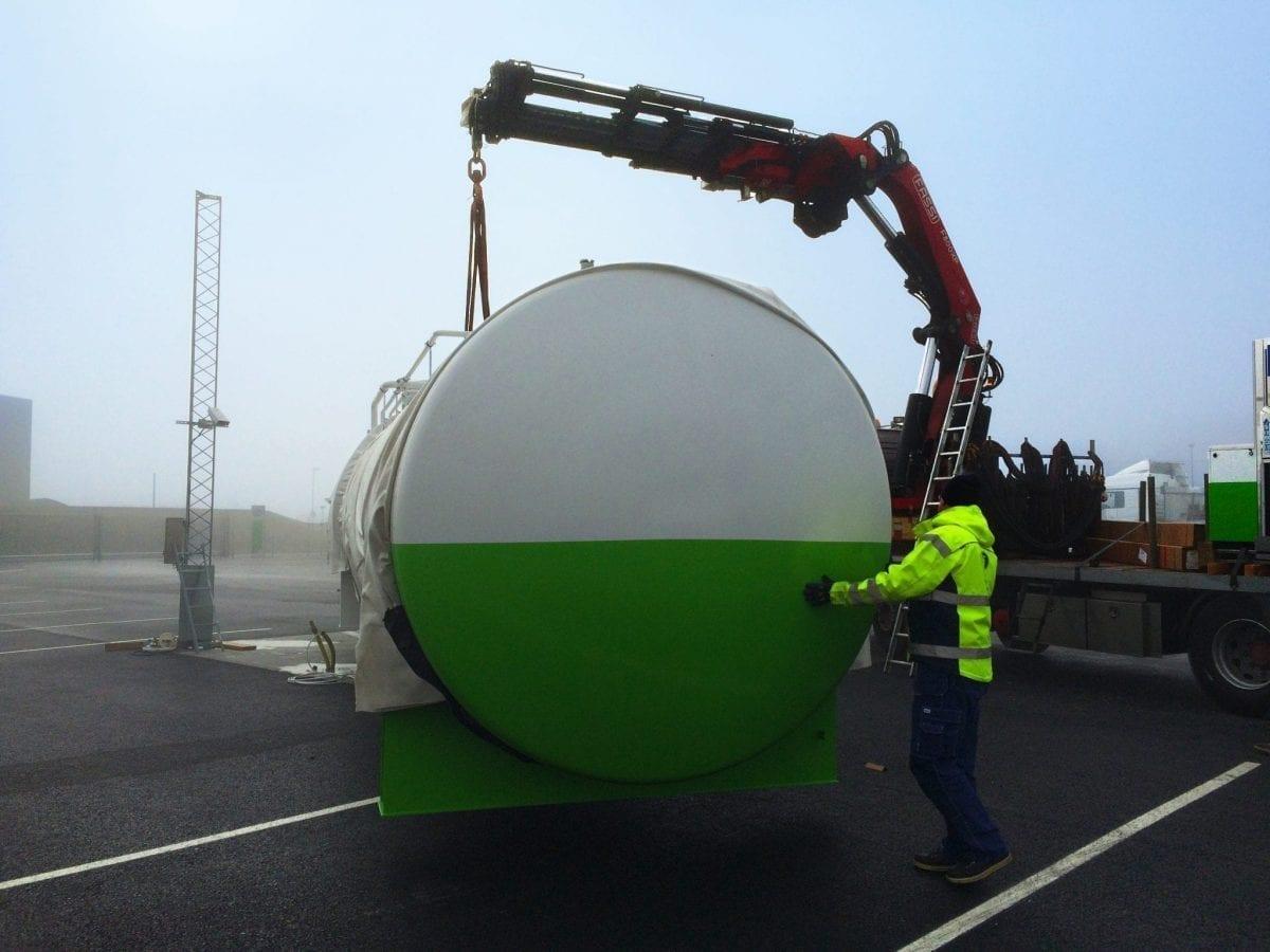 Installation tank