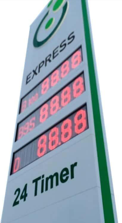 Listepriser Biofuel Express