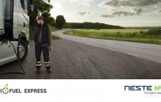 Biofuel Express säkrar ett nytt leveransavtal med världens största tillverkare av förnybar diesel HVO - Neste