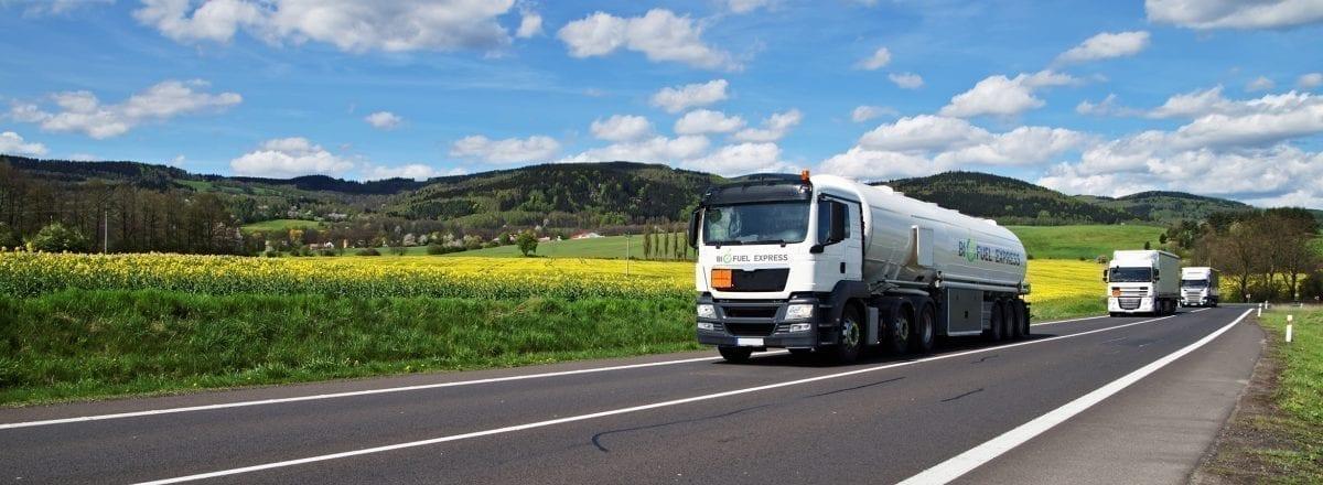 Biofuel Express tankvogne