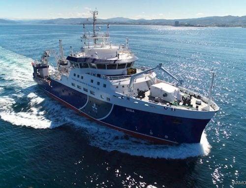 Sveriges nya klimat- och miljöforskningsfartyg seglar på fossilfritt bränsle