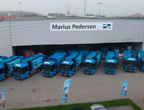 Esbjerg's garbage trucks are going green