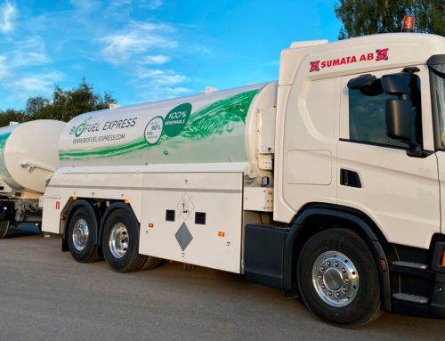 Biofuel Express fortsätter den gröna linjen från insidan till utsidan