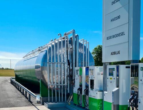 Utvecklingen fortsätter på Biofuel Express – Grön lastbilstation öppnar i Falkenberg