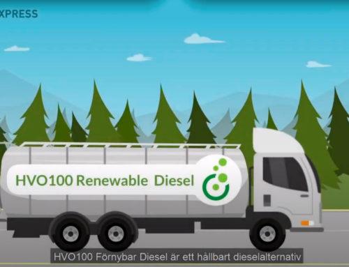 Vad består HVO100 Förnybar Diesel bland annat av och vilka egenskaper har den?