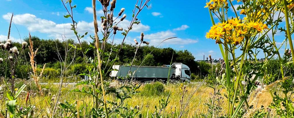 Biobränsle lastbil