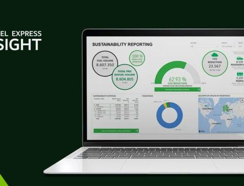 Lansering av Biofuel Express Insight: Ny kundeportal for å tilrettelegge for klimarapportering innen transport
