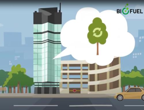 Biofuel Express er det første i Norden med en kundeserviceportal som gir bedrifter en oversikt over CO2 -utslipp for transport