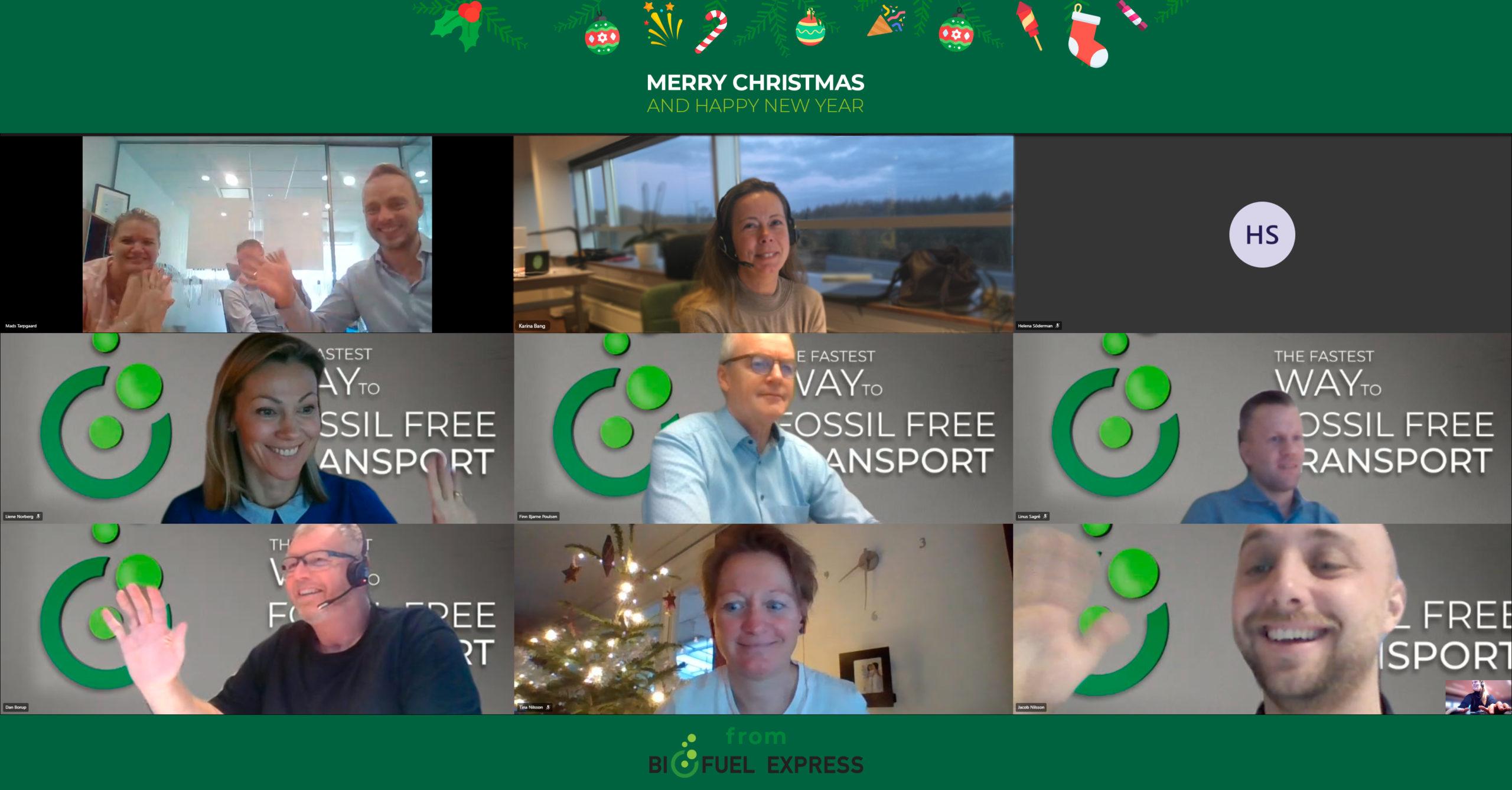 Julehilsen 2020 Biofuel Express