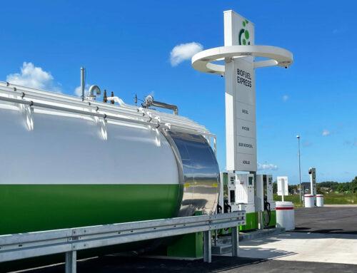 Servicetekniker hos Biofuel Express