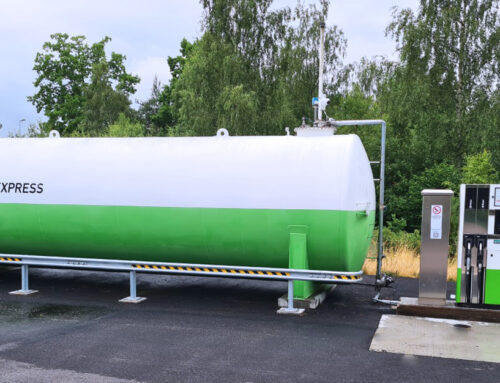 Truckstation åbnet i Sölvesborg i Sverige
