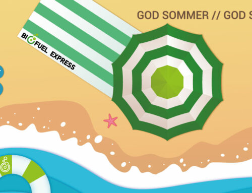 I ønskes alle god sommer fra Biofuel Express-teamet