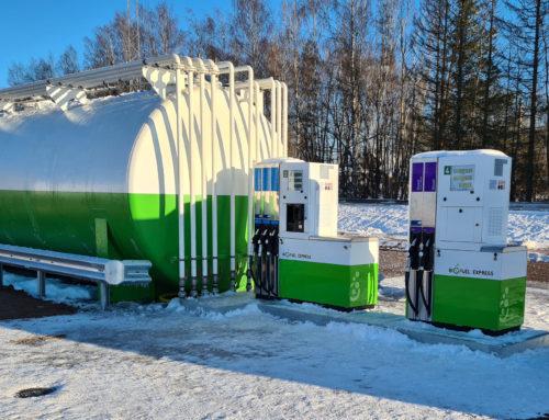 Biofuel Express öppnar Vimmerby station igen